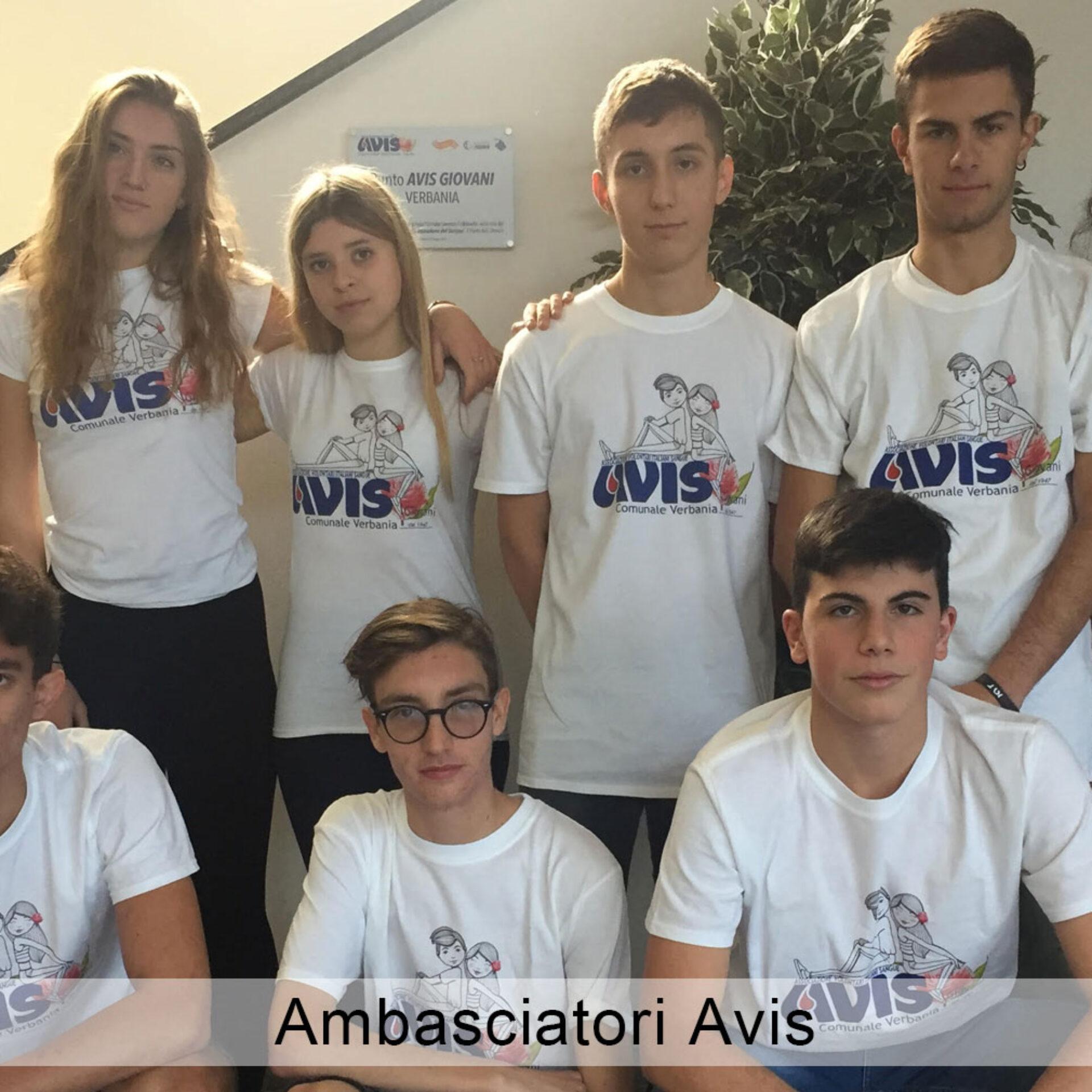AVIS Comunale Verbania_Ambasciatori AVIS Verbania_Istituto Cobianchi